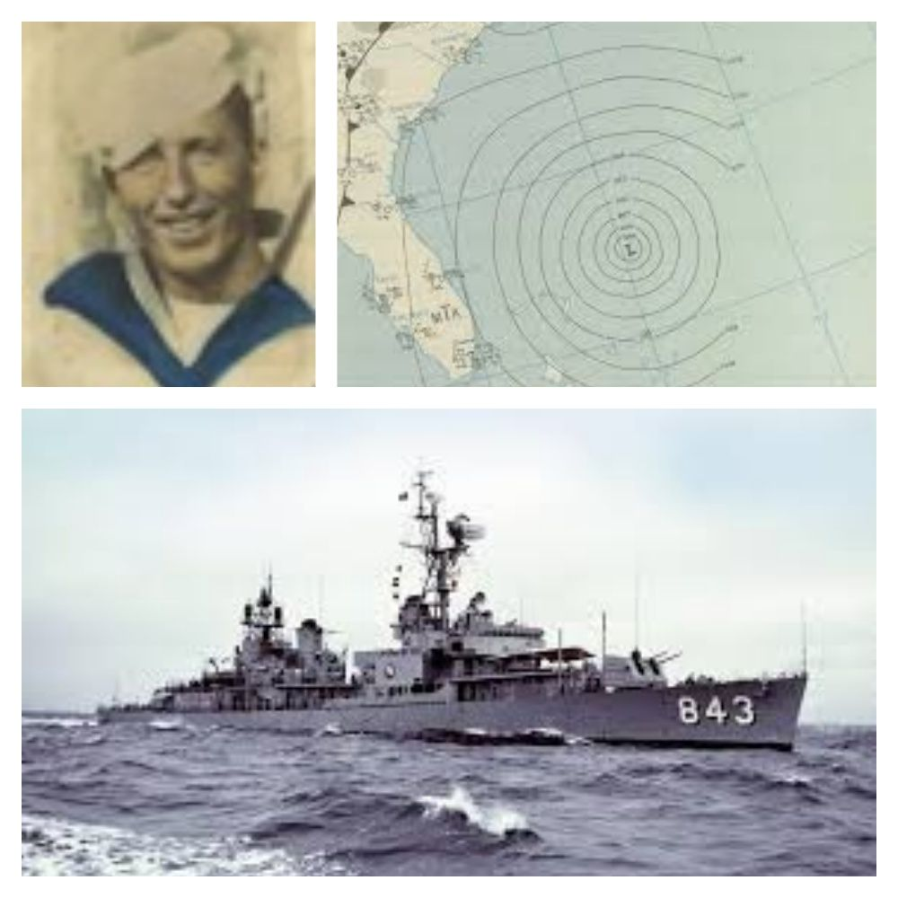 Seaman Lyle Peterson Was Lost At Sea When The USS