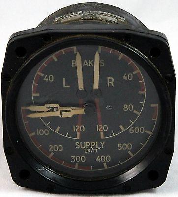 Four way brake pressure gauge for raf devon heron aircraft gc7 four way brake pressure gauge for raf devon heron aircraft gc7 altavistaventures Images