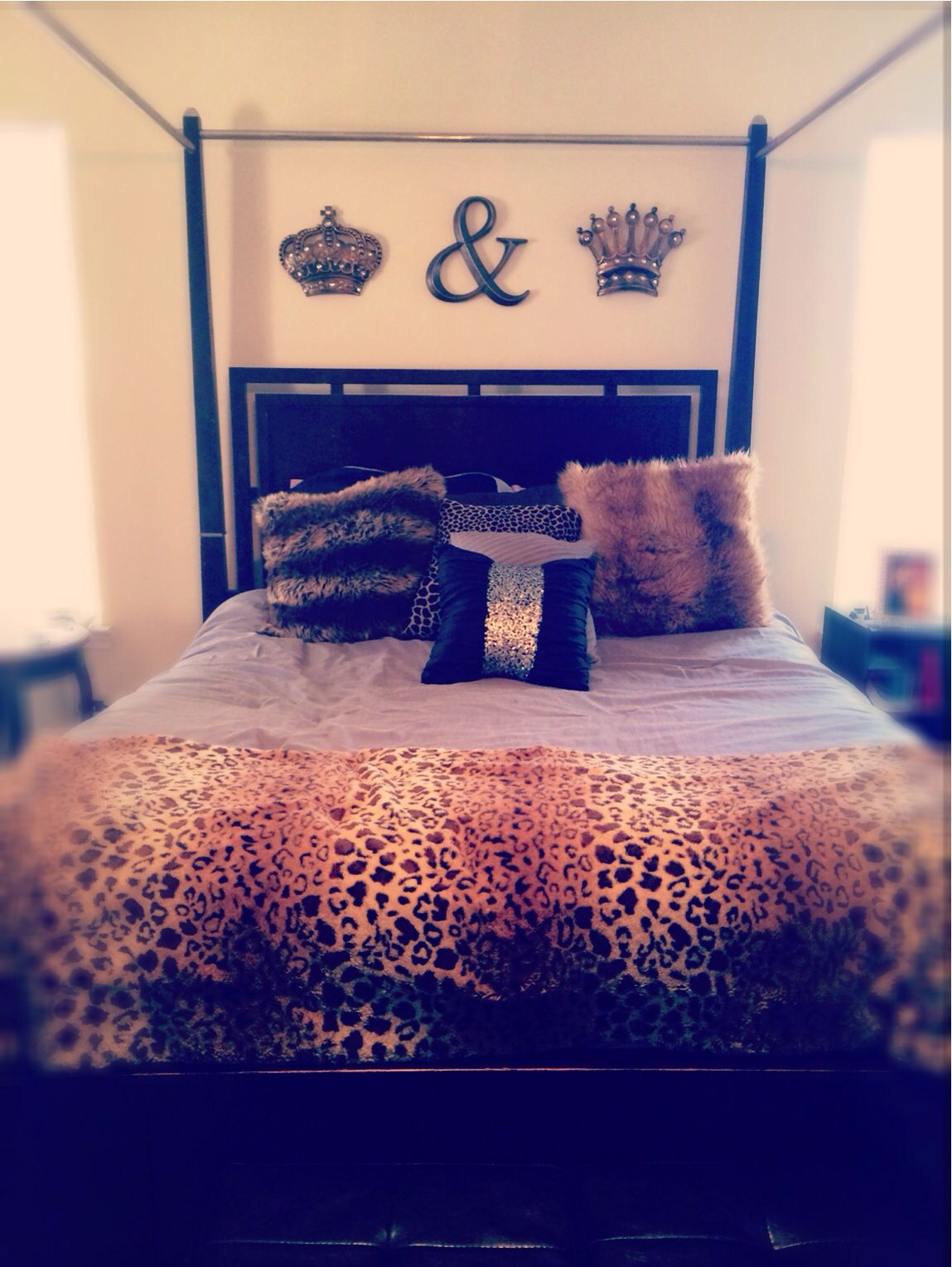 King And Queen Bedroom Decor Over Our Bed Now To Add Paint But I