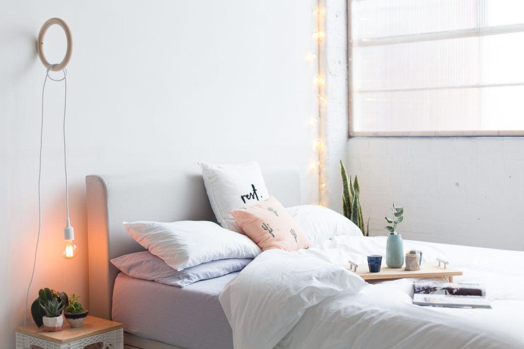 Brighten up Bedroom Decor with a DIY