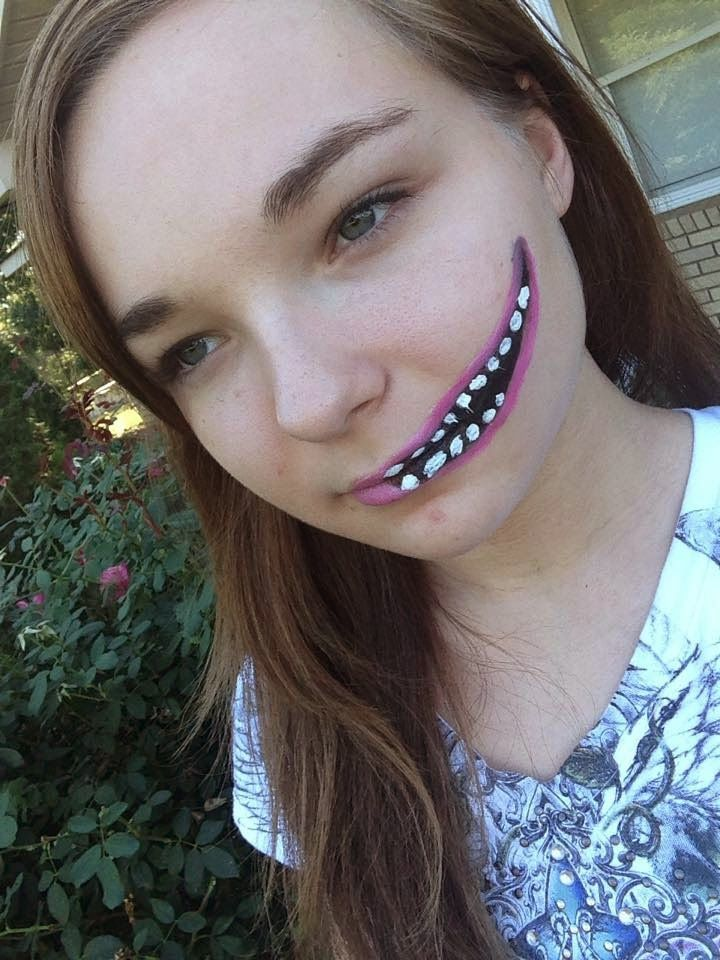 Check out my latest Macabre Makeup Creepy Smile Tutorial! Takes ...