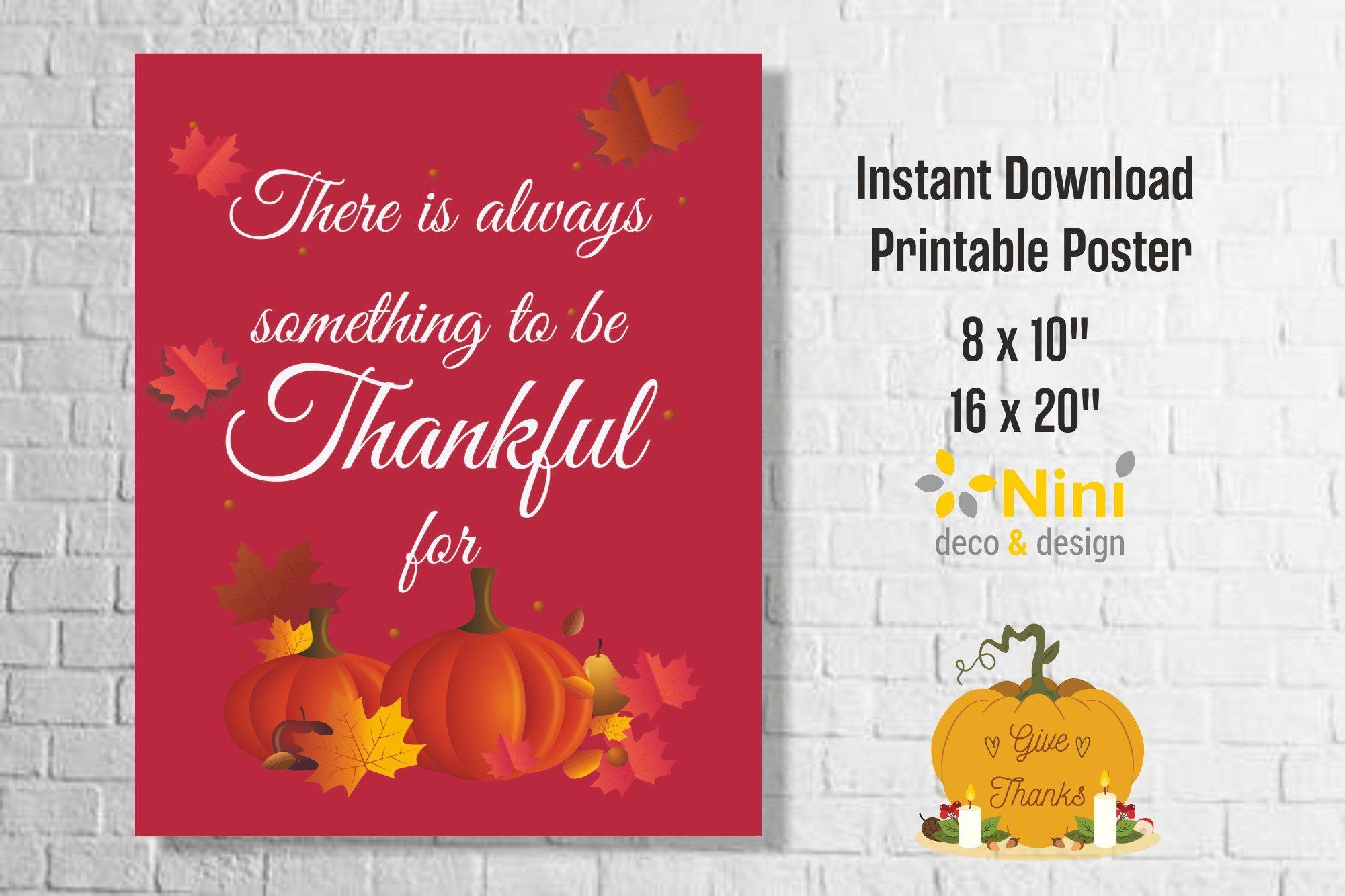 Thanksgiving Poster Printable Thanksgiving Wall Art Bless Food Family Love Sign Pumpkin Sign Thanksgiving Quote Pumpkin Thanksgiving Sign Imprimible Accion De Gracias Poster