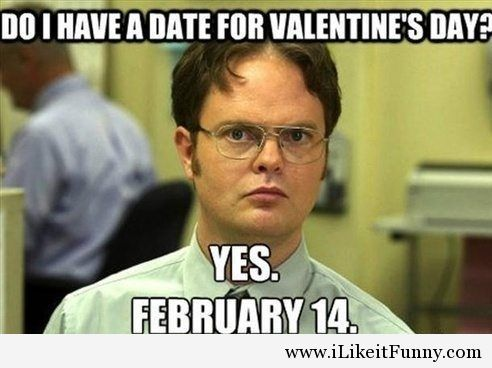 February 14 Joke For Valentine S Day Funny Picture Just For Laughs Laugh Humor