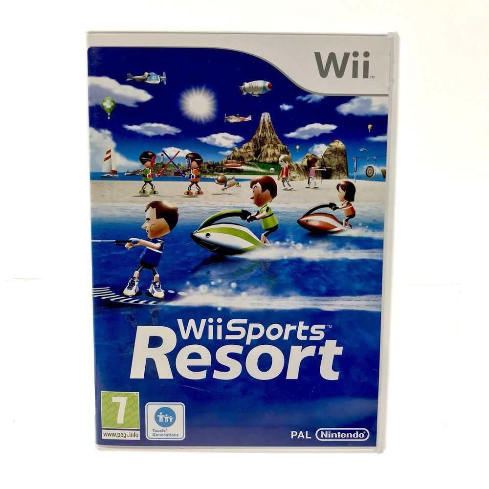 Nintendo Wii Game Wii Sports Resort 2009 complete with