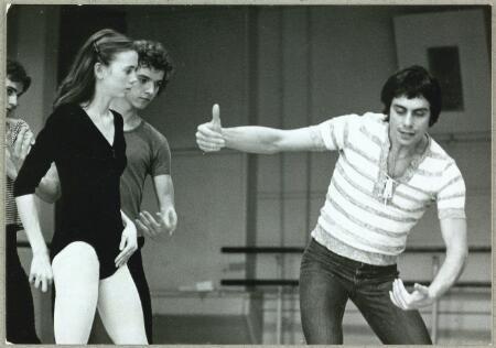 John Neumeier, Ib Andersen, Mette-Ida Kirk rehearsing Romeo and Juliet
