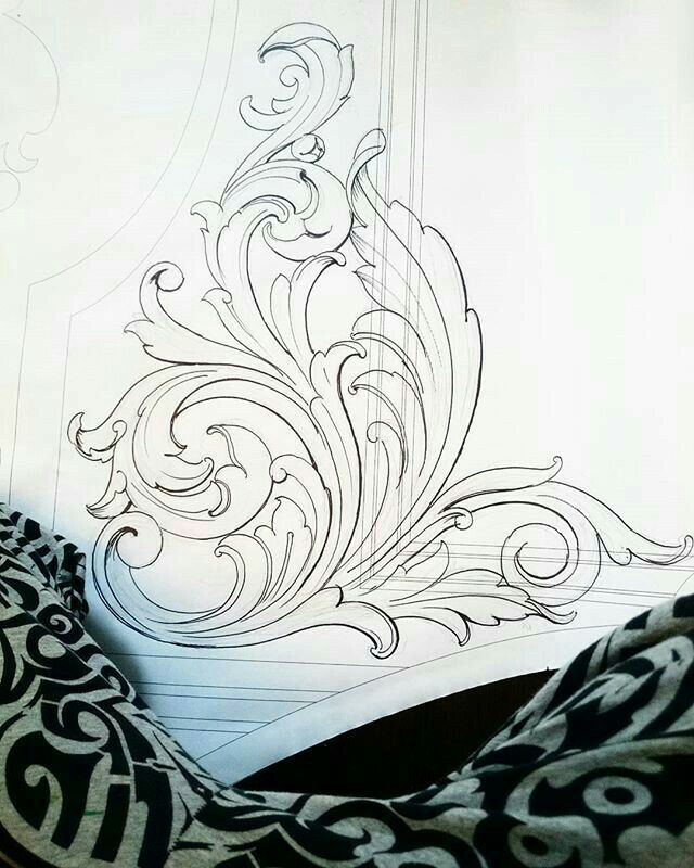 Pin By Gwendi Centeno On Tattoo Ideas Ornament Drawing Engraving Art Drawings,Simple Corner Border Designs For Projects
