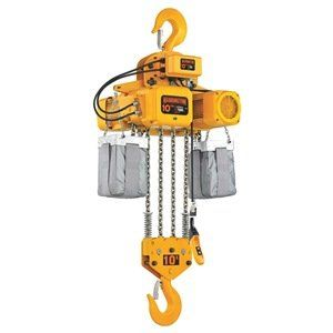 Chain Hoist 10 Ton Lift 20 Ft 11 Fpm By Harrington 18144 77 Ner Chain Hoistselectric Chain Hoistsdesigned To Handle He House Materials Hoist Steel Chain