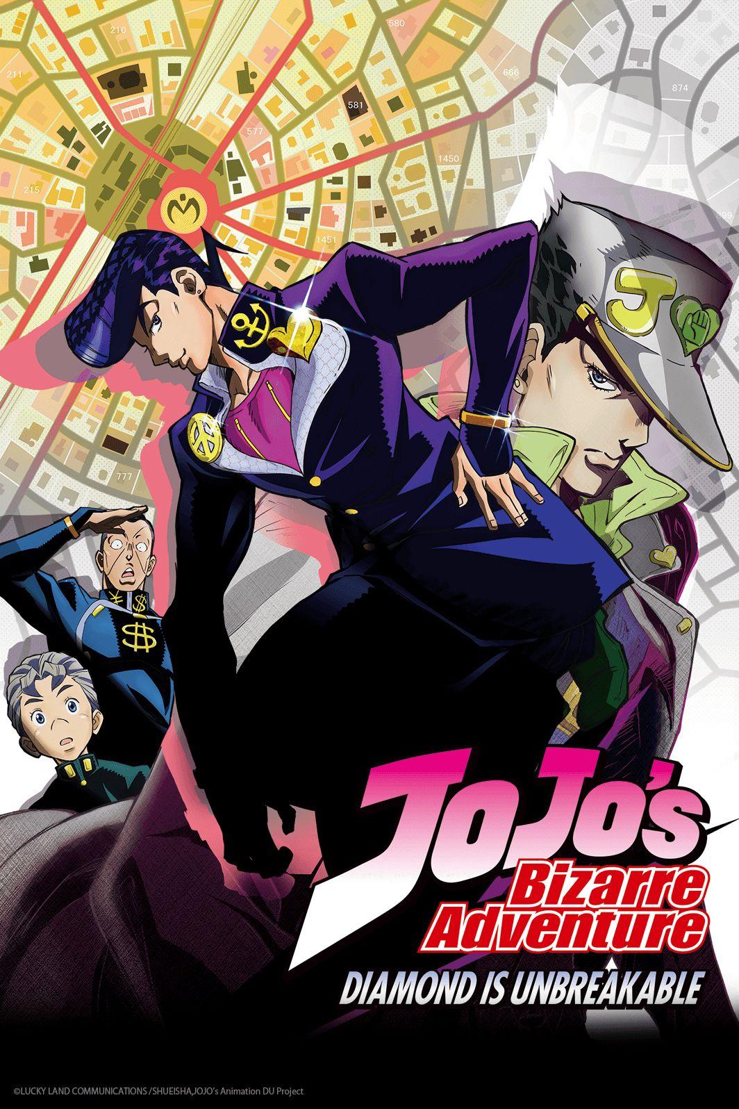 Jojo S Bizarre Adventure Diamond Is Unbreakable Jojo Bizzare