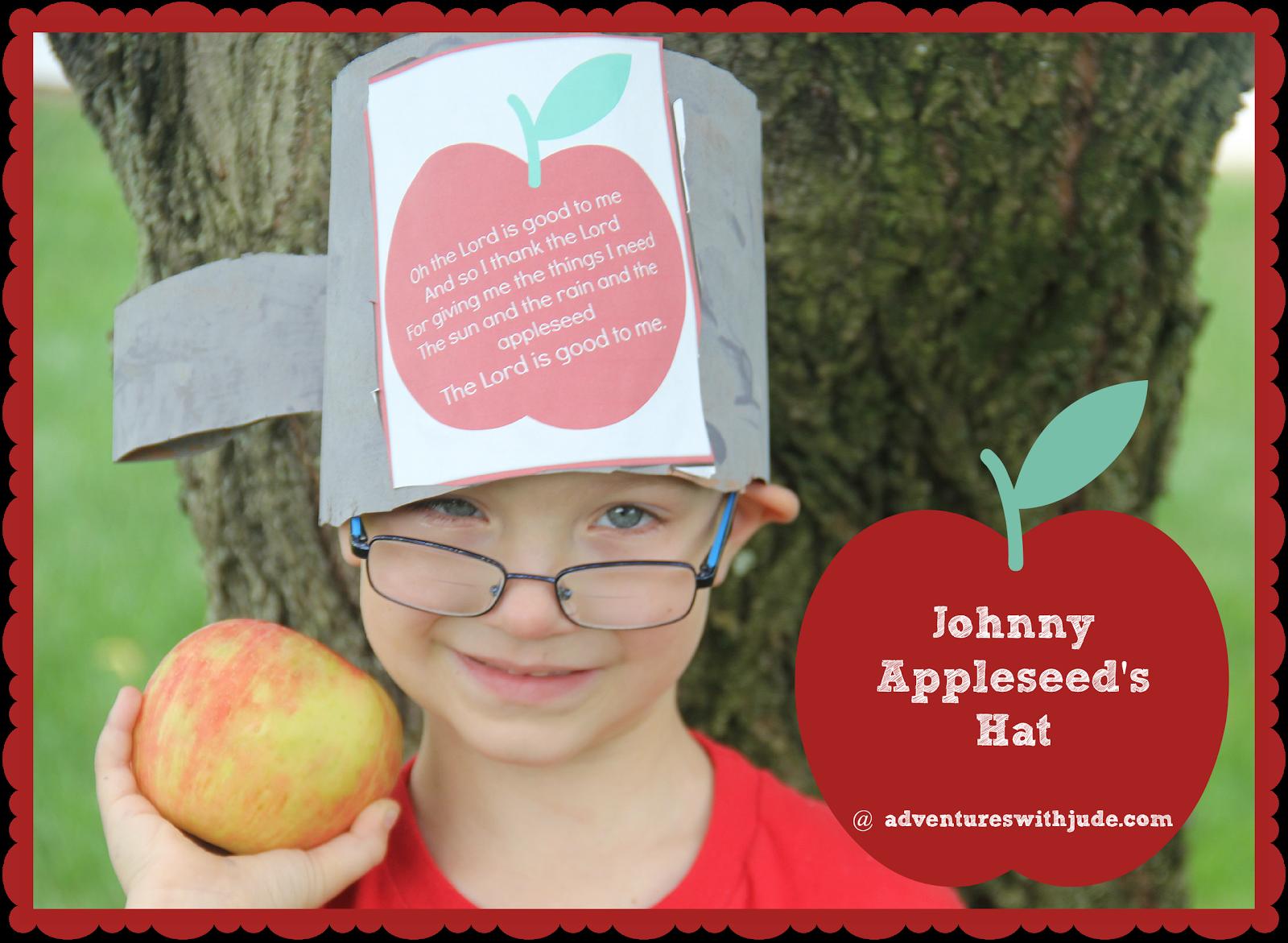 Johnny Appleseed Mini Unit Study Includes Printable