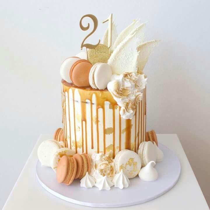 Birthday Cake But With An Other Topper That Would Be Awesome For