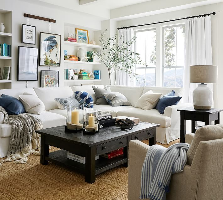 7 Go-To Ideas for Living Room Corner Decor! in 2020 (With ...