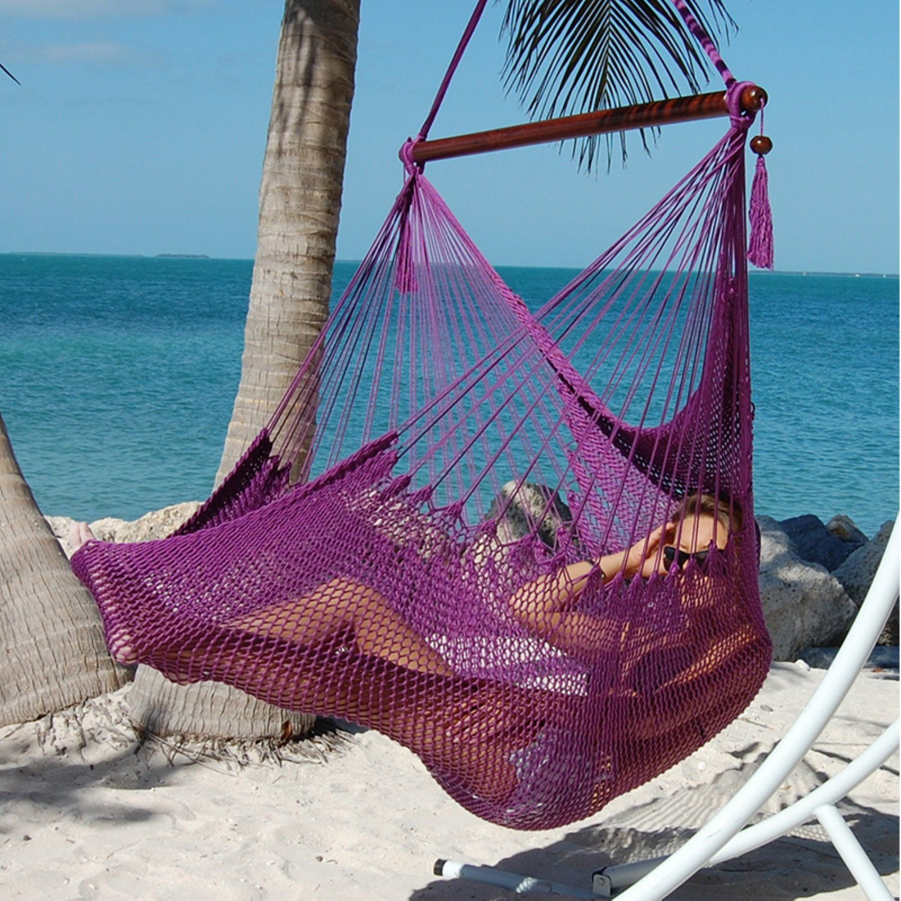 Caribbean hammock chair purple cjhcpds hammocks pinterest