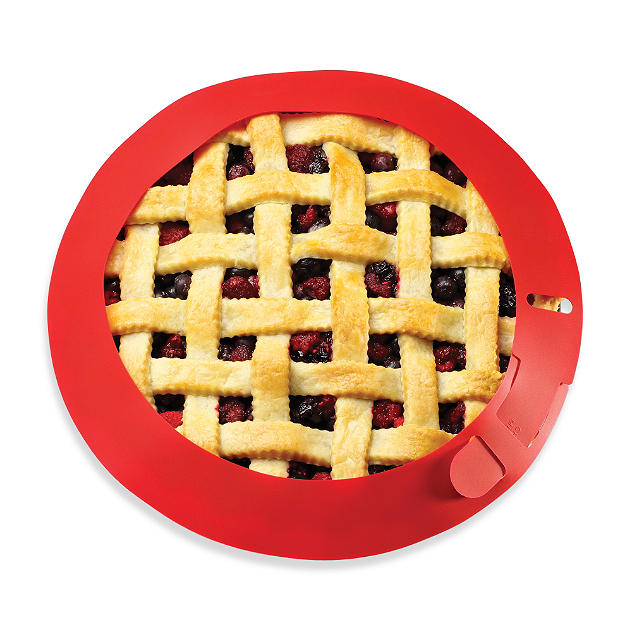 Make the perfect pie every time with a crust protector from Bed Bath & Beyond.