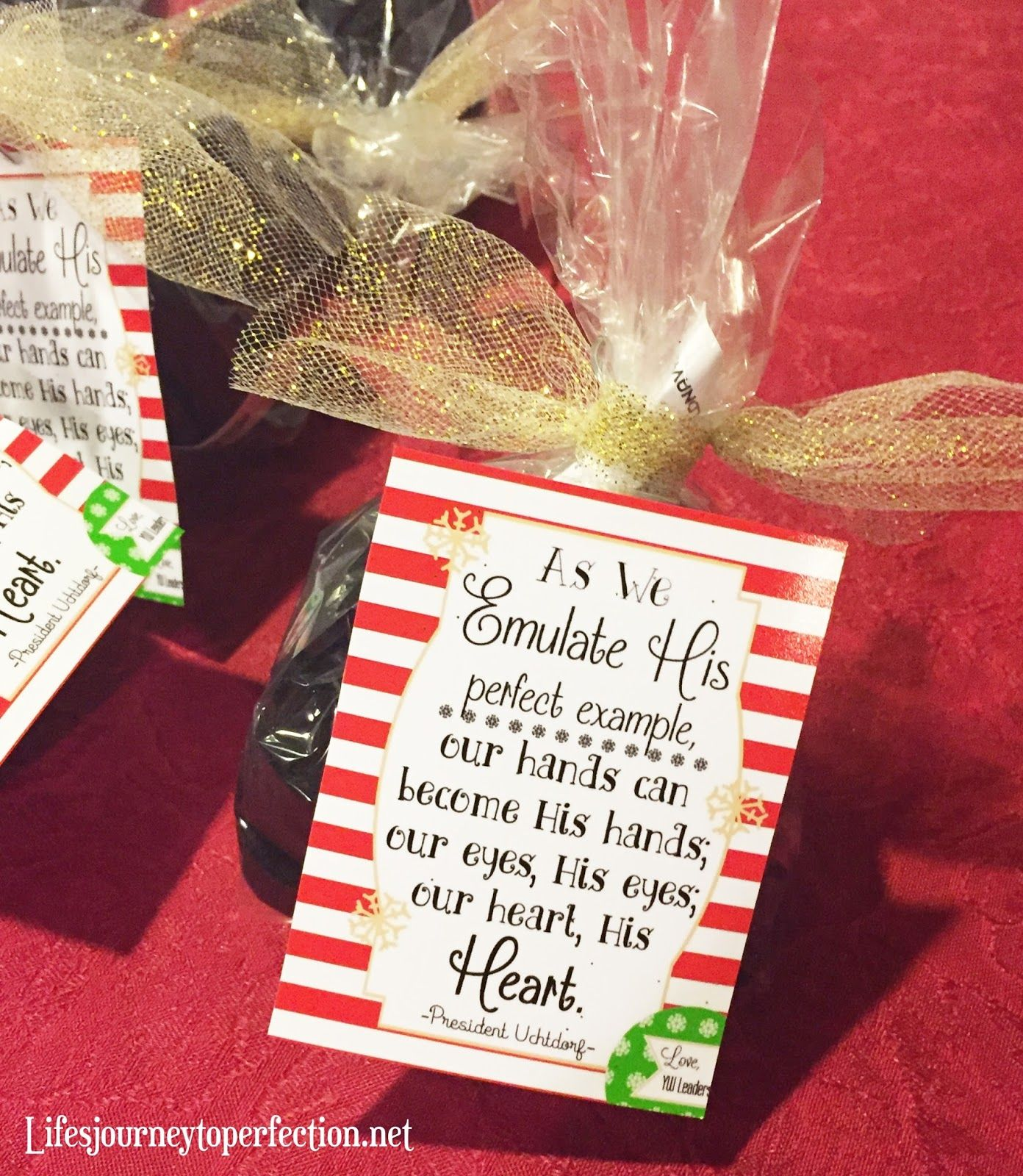 """109 Best Christmas Lds Images On Pinterest: """"Our Hands, His Hands"""" Christmas Gift/Handout! Great For"""