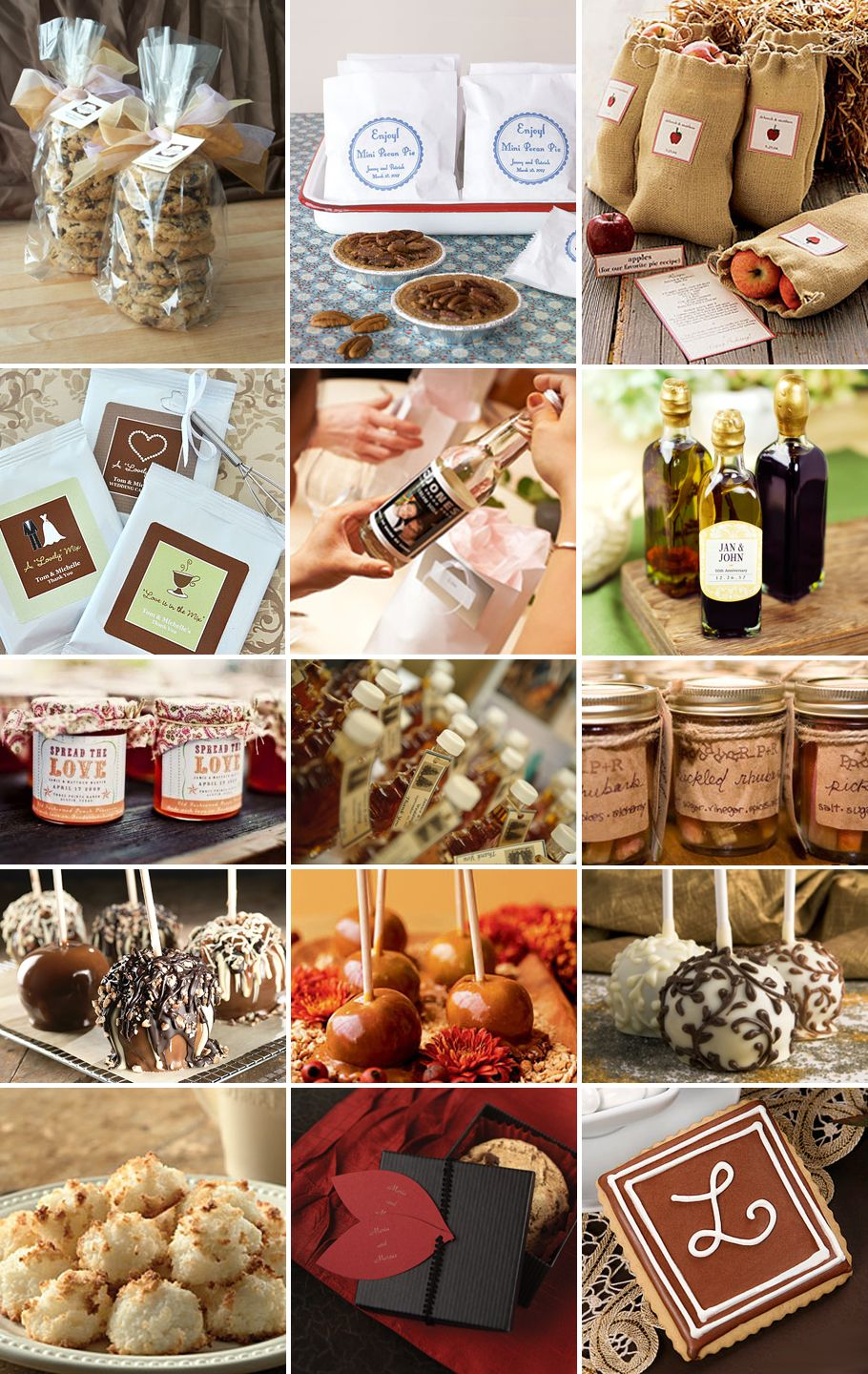 Fall Wedding Favor Ideas Also Another Idea Green Gate Olive