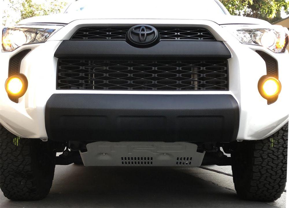 Blackout 4runner Front Bumper Valance Step By Step Install Process 4runner Toyota 4runner Toyota 4runner Sr5