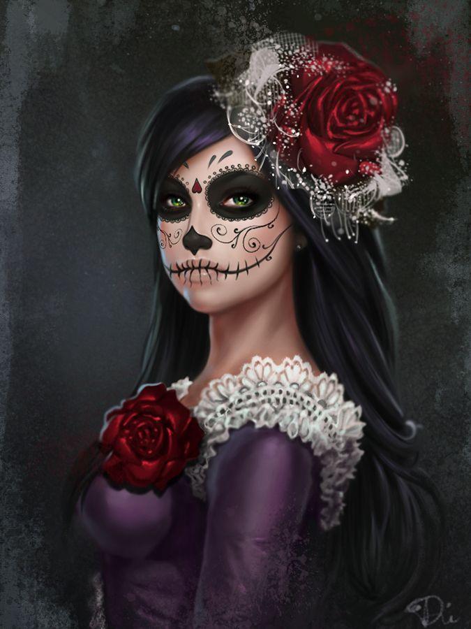 Dead Catrina by Diana Gali | Horror | 2D | CGSociety