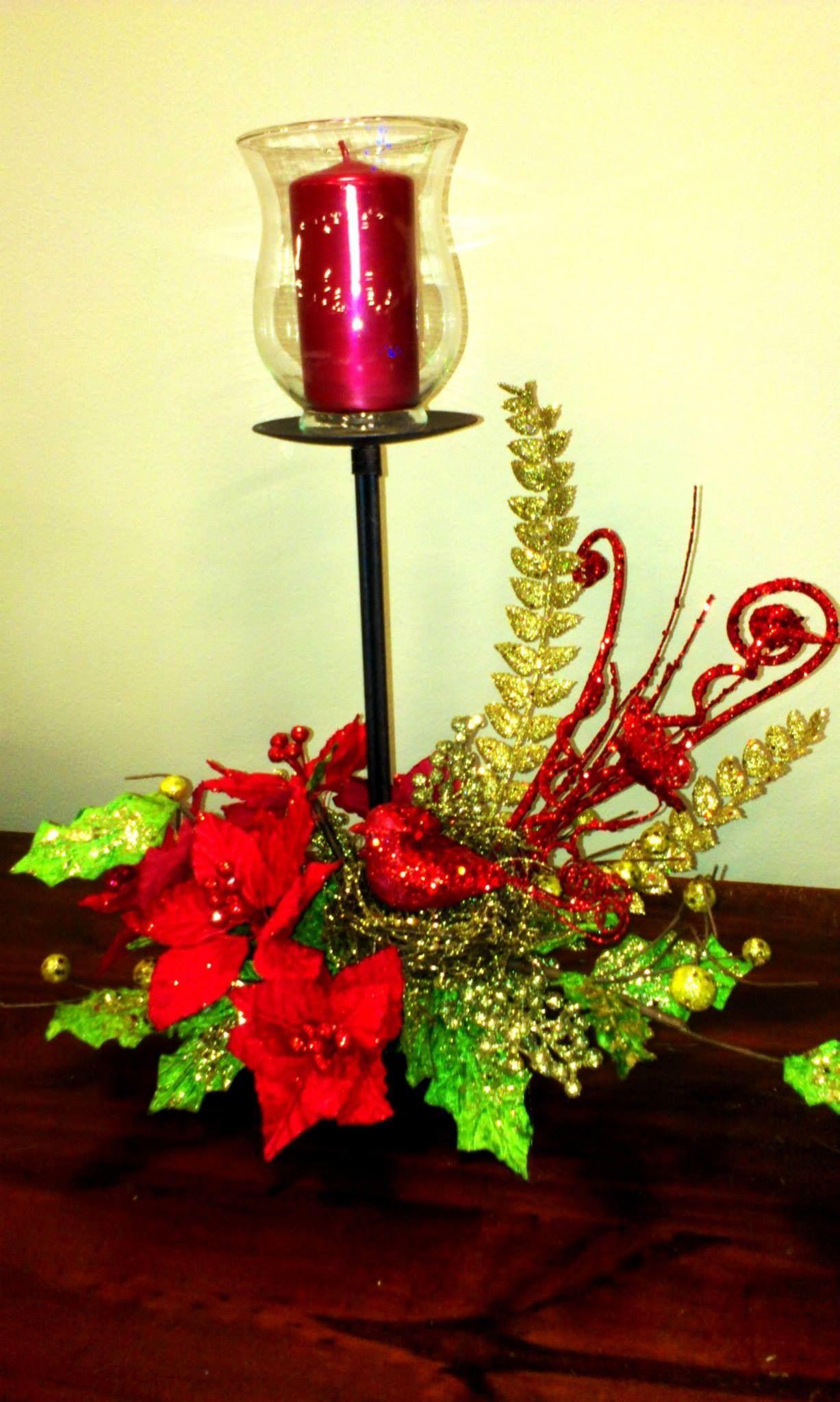 Navidad arreglos pinterest navidad manualidades - Adornos navidenos para mesas ...