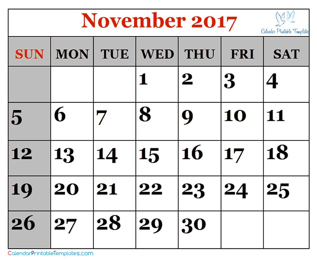 Pin by Calendar Designer on Calendar Template | 2017 calendar