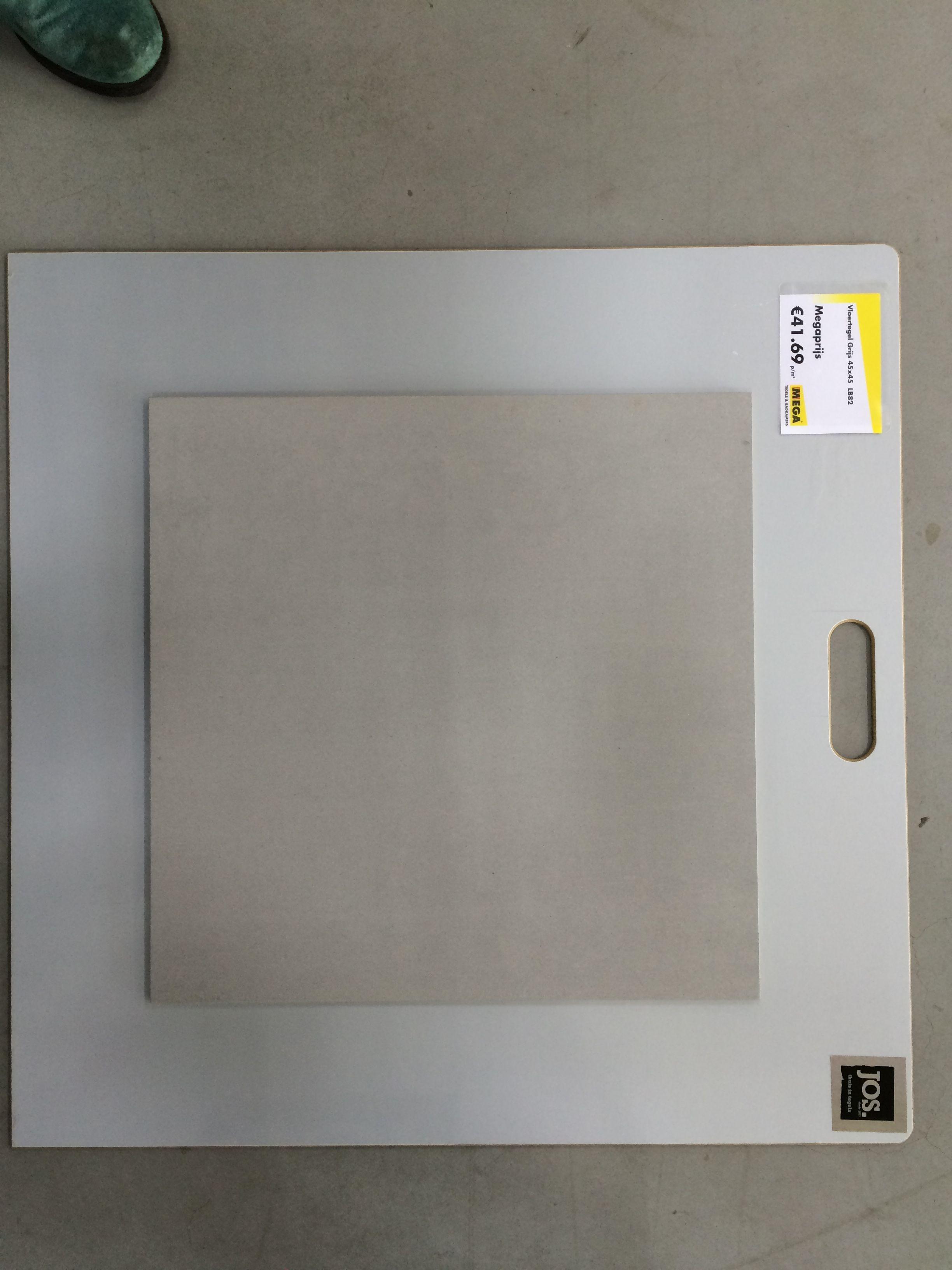 tegel 45 x 45 lichtgrijs Mega tegel   badkamer   Pinterest