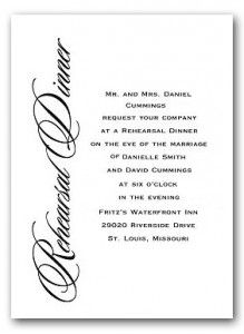 Dinner Invitation Template Invitation Wording For Wedding Rehearsal Dinner  Rehearsal Dinner .