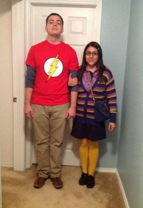 Best Costume idea ever sheldon amy bbt Fancy Dress Pinterest - unique couples halloween costumes ideas