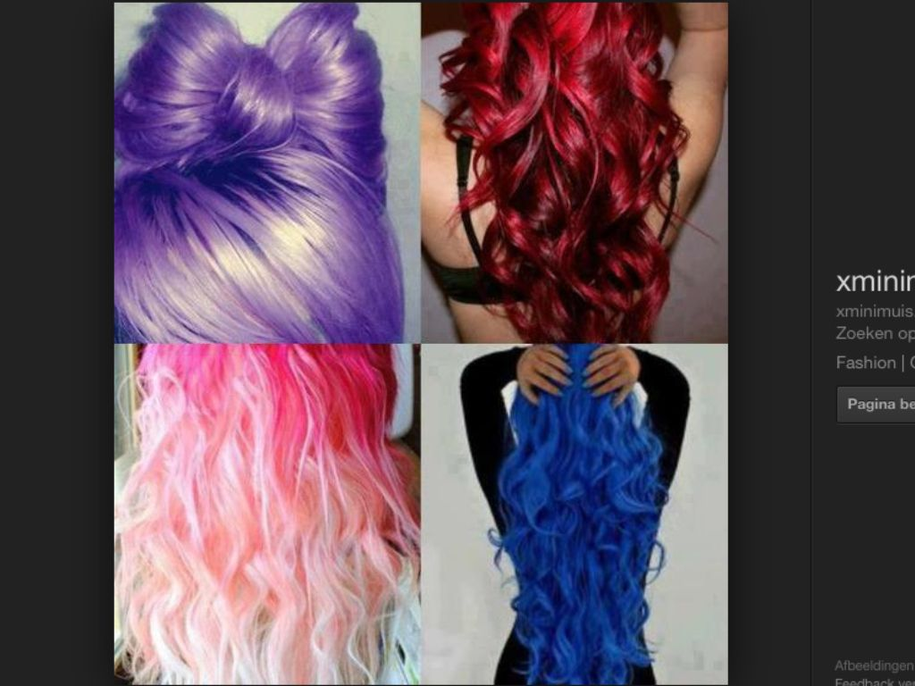Pin by chanell raharing on colored hair pinterest hair art