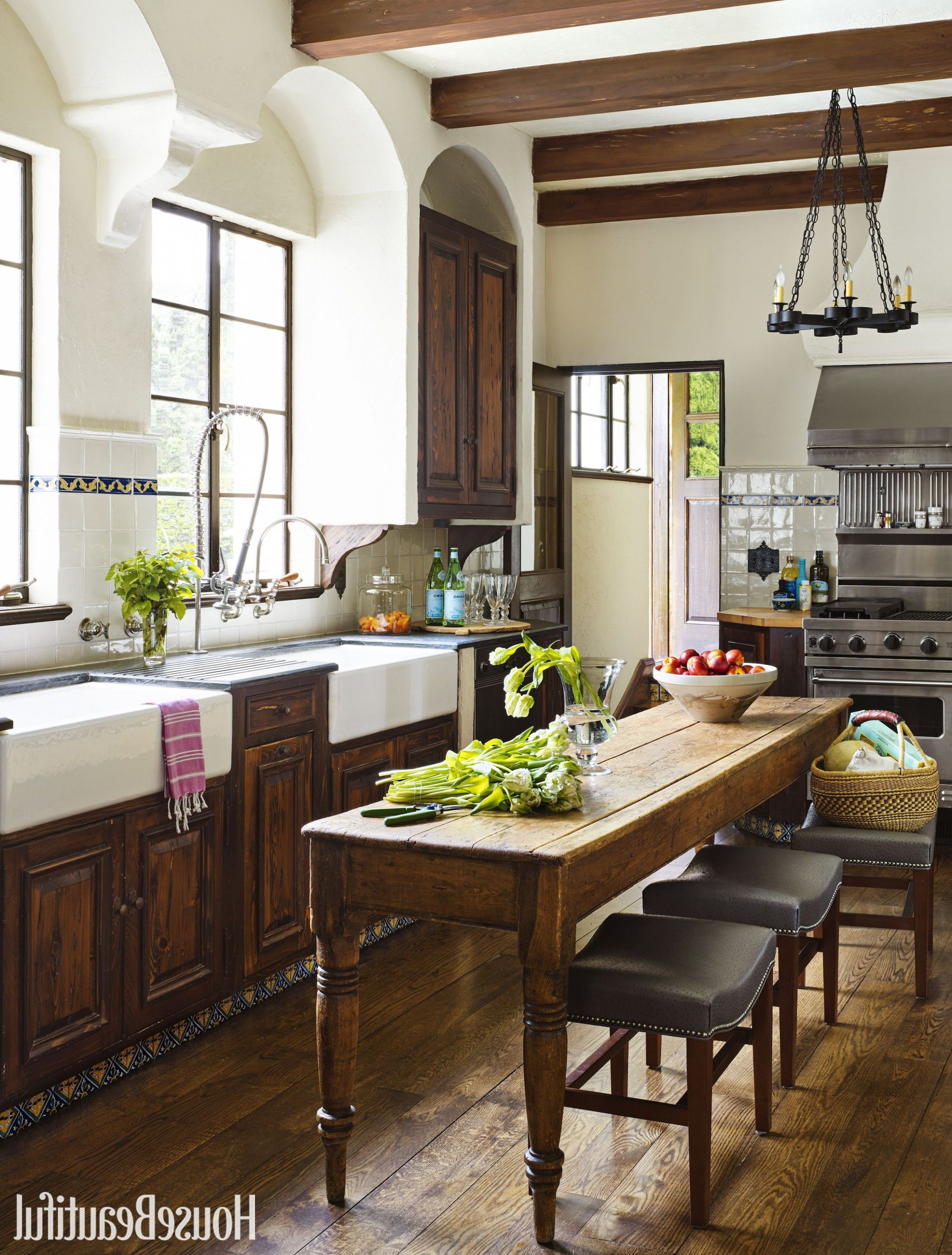 Matthew Quinn Designs House Beautiful Kitchen Of The Year