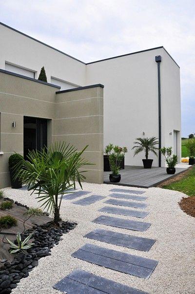 terrasse entrée maison - Recherche Google | Deco | Pinterest ...