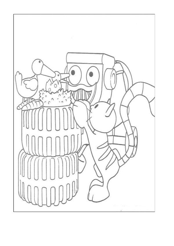Byggmester Bob Fargelegging for barn. Tegninger for utskrift og fargelegging nº 28