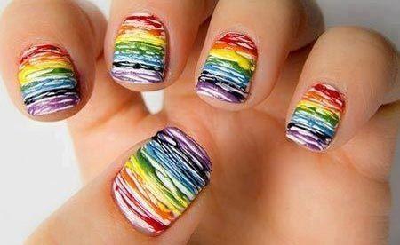 kinda rainbow paint splatter