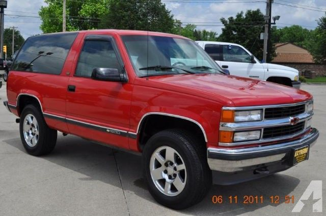 1994 Chevrolet Blazer Chevrolet Blazer Chevrolet Blazer