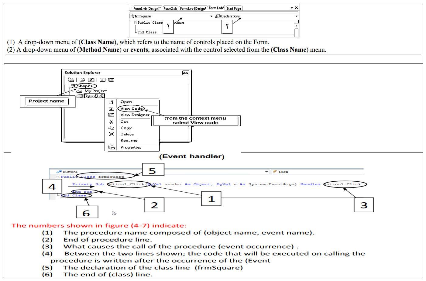 مذكرة Computer للصف الثالث الإعدادي الترم الأول Diagram Exam