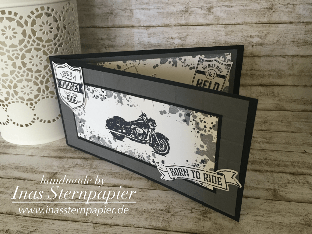 one wild ride stampin up geburtstagskarte birthday card. Black Bedroom Furniture Sets. Home Design Ideas