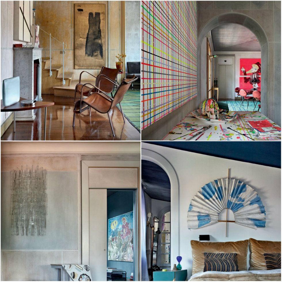 Milan House Interior Design tour: Nina Yashar, an unusual modernism ...