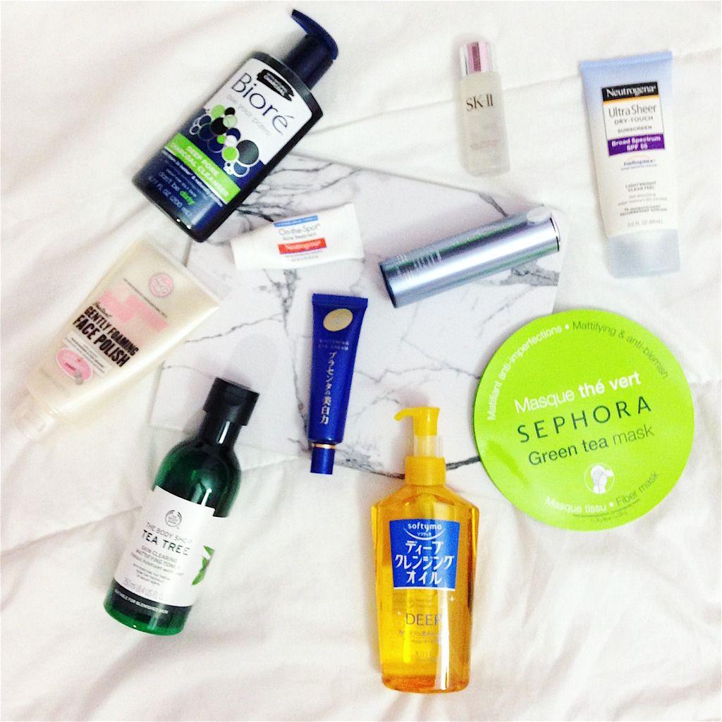 The Korean 10 step skincare system for acne prone skin