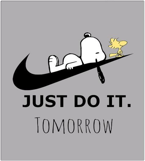 Mach es einfach morgen