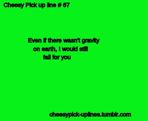 Cute Pick Up Lines For Him