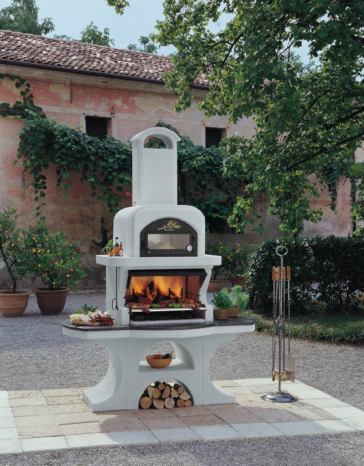 Palazzetti Outdoor Bbq Pizza Oven Capri Stainless Steel Ebay