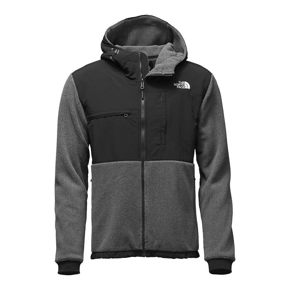 027ba00f1740 The North Face Men s Denali 2 Hoodie - Small - Recycled Charcoal Grey  Heather   TNF Black