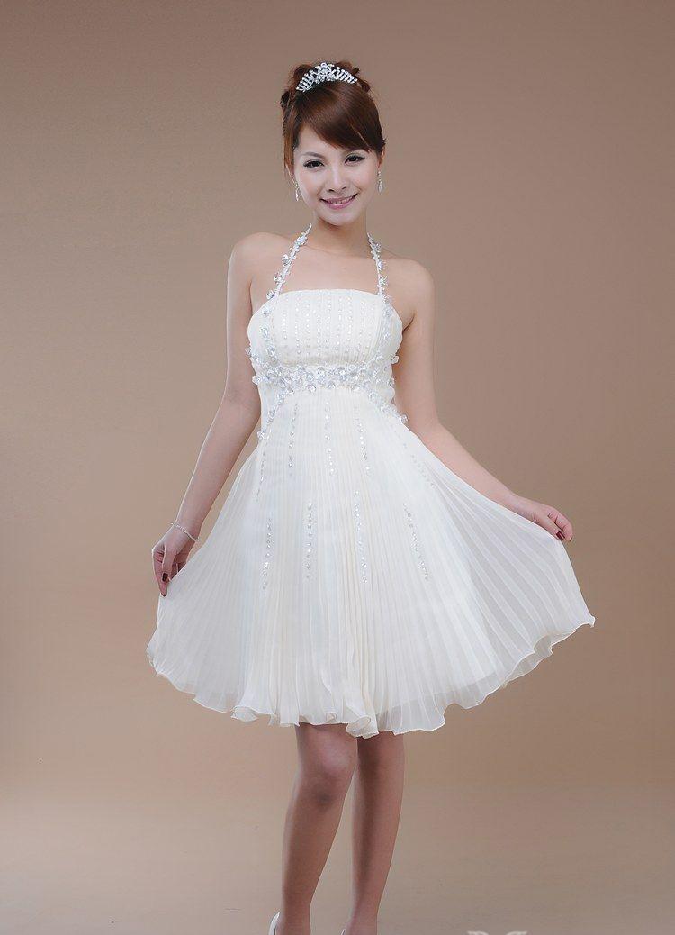 Vestidos blancos para fiesta de quince