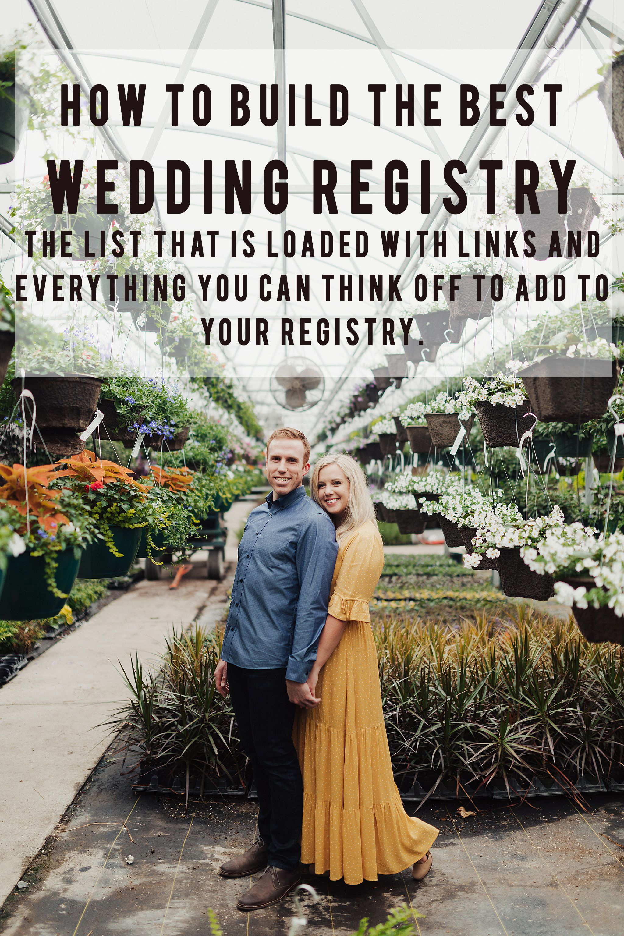 Wedding Registry Guide Everything You Should Have on