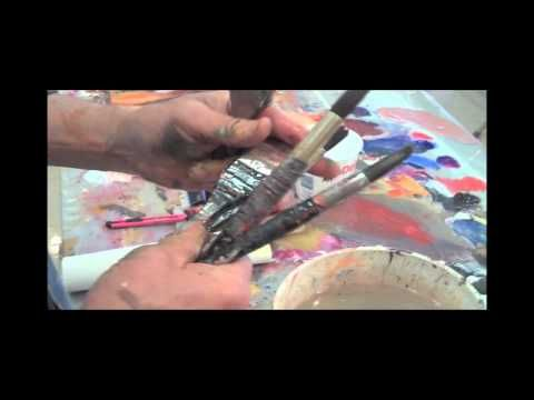 Abstract Acrylic Painting & Collage Workshop