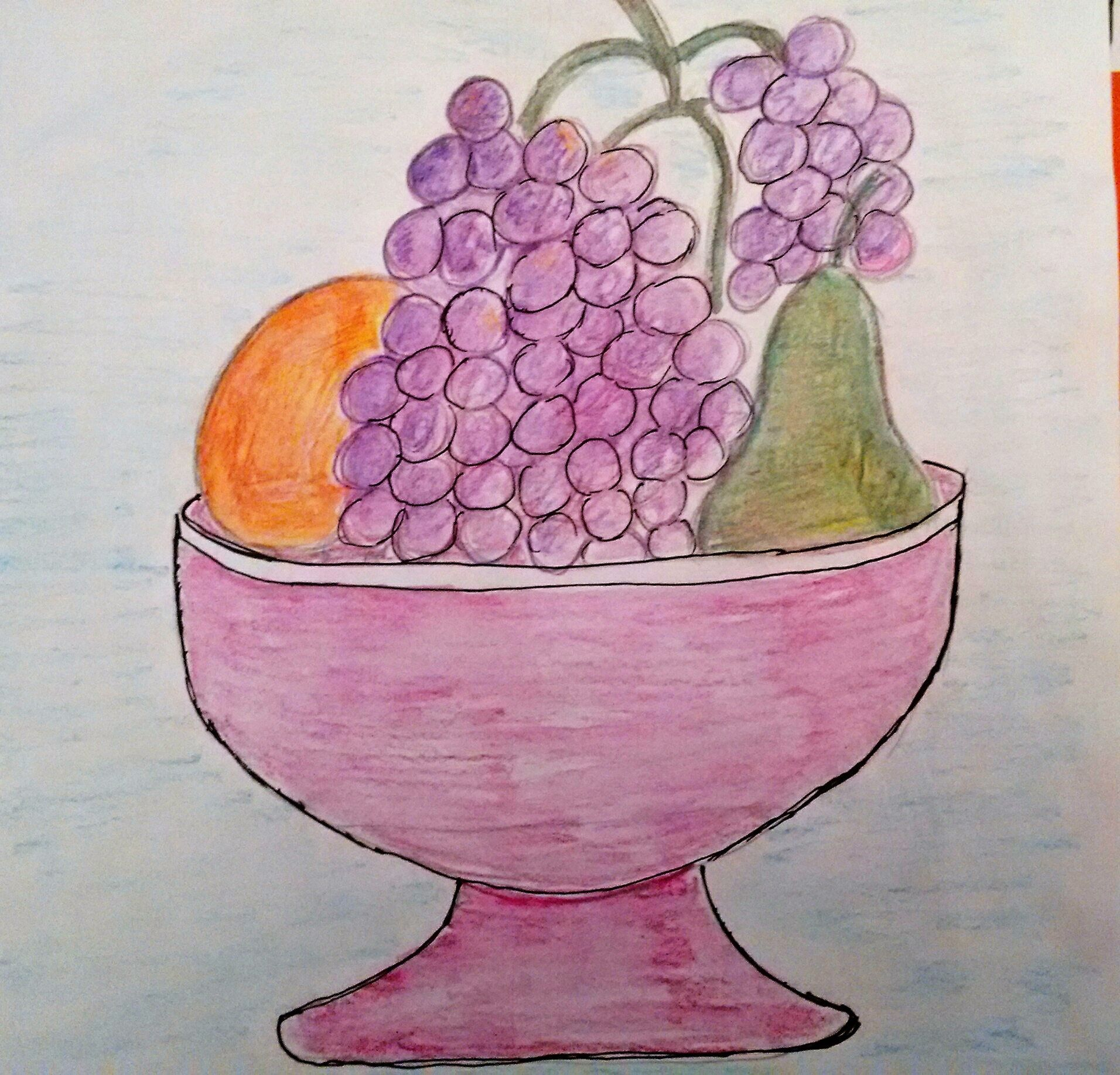 картинки для рисования натюрморта из фруктов любим украшать