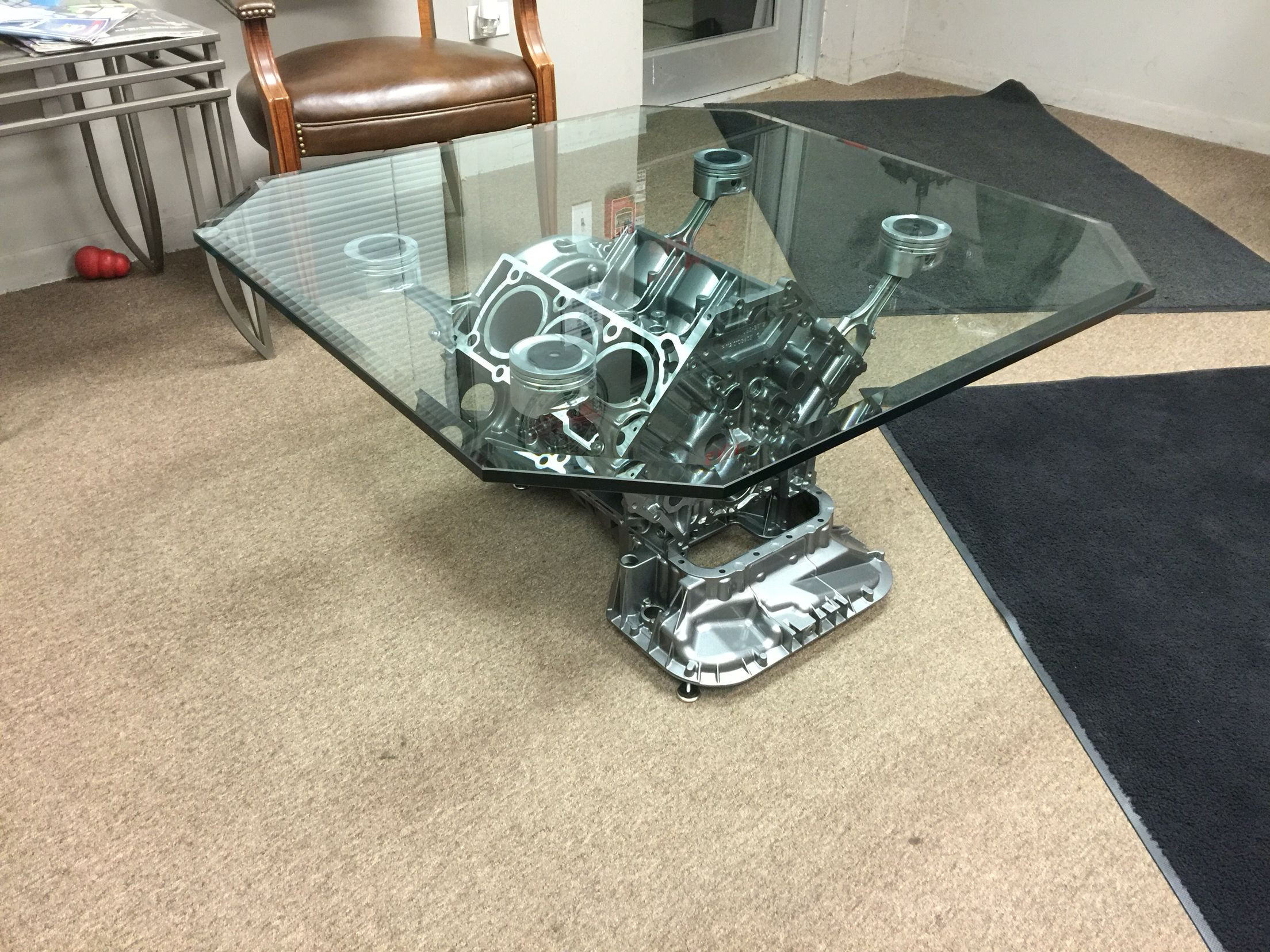Couchtisch V8 Mercedes Benz Engine Block Coffee Table My Projects In