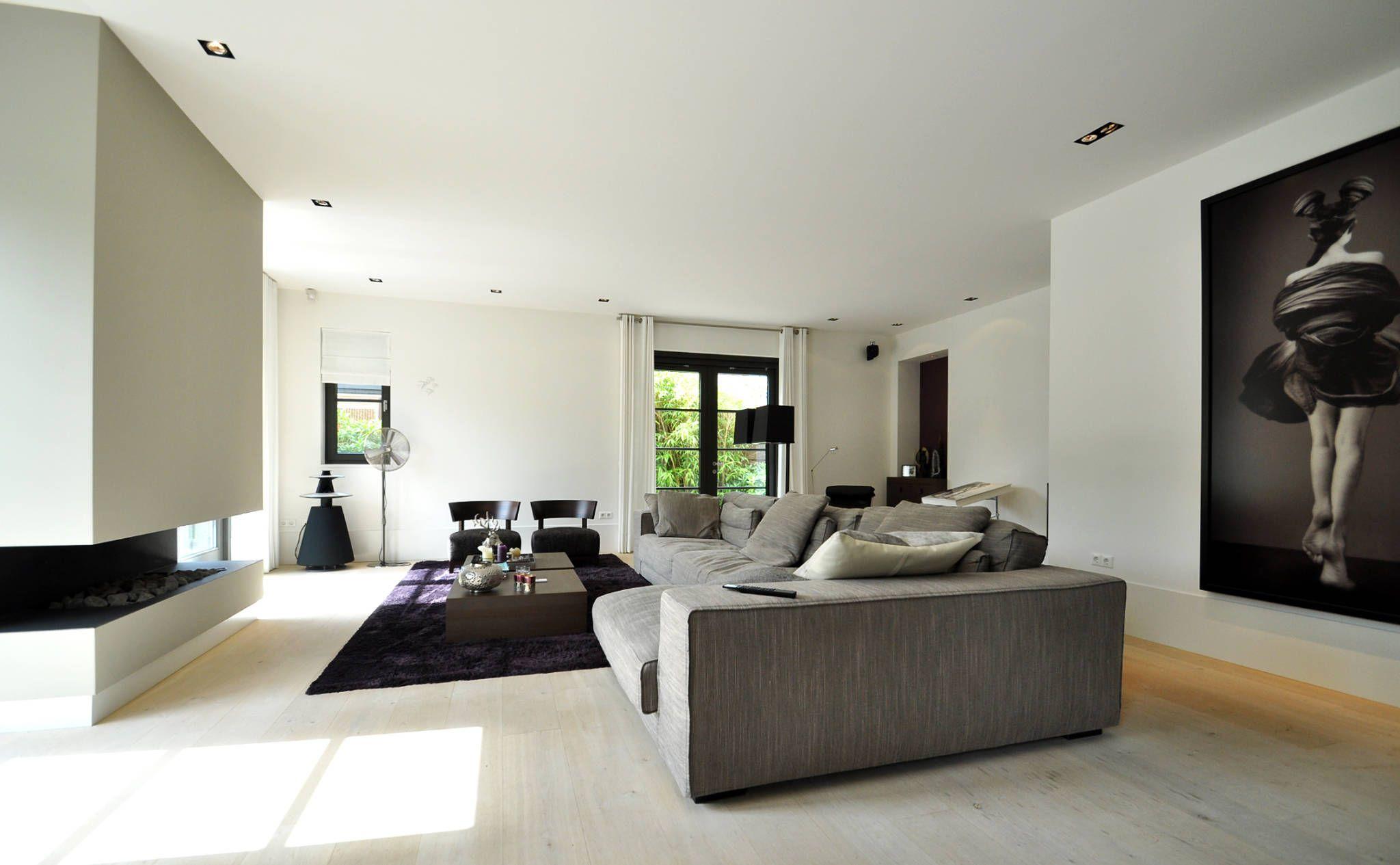 Idee n inspiratie foto 39 s van verbouwingen woonkamer modern moderne woonkamers en modern for Schilderen moderne volwassen kamer