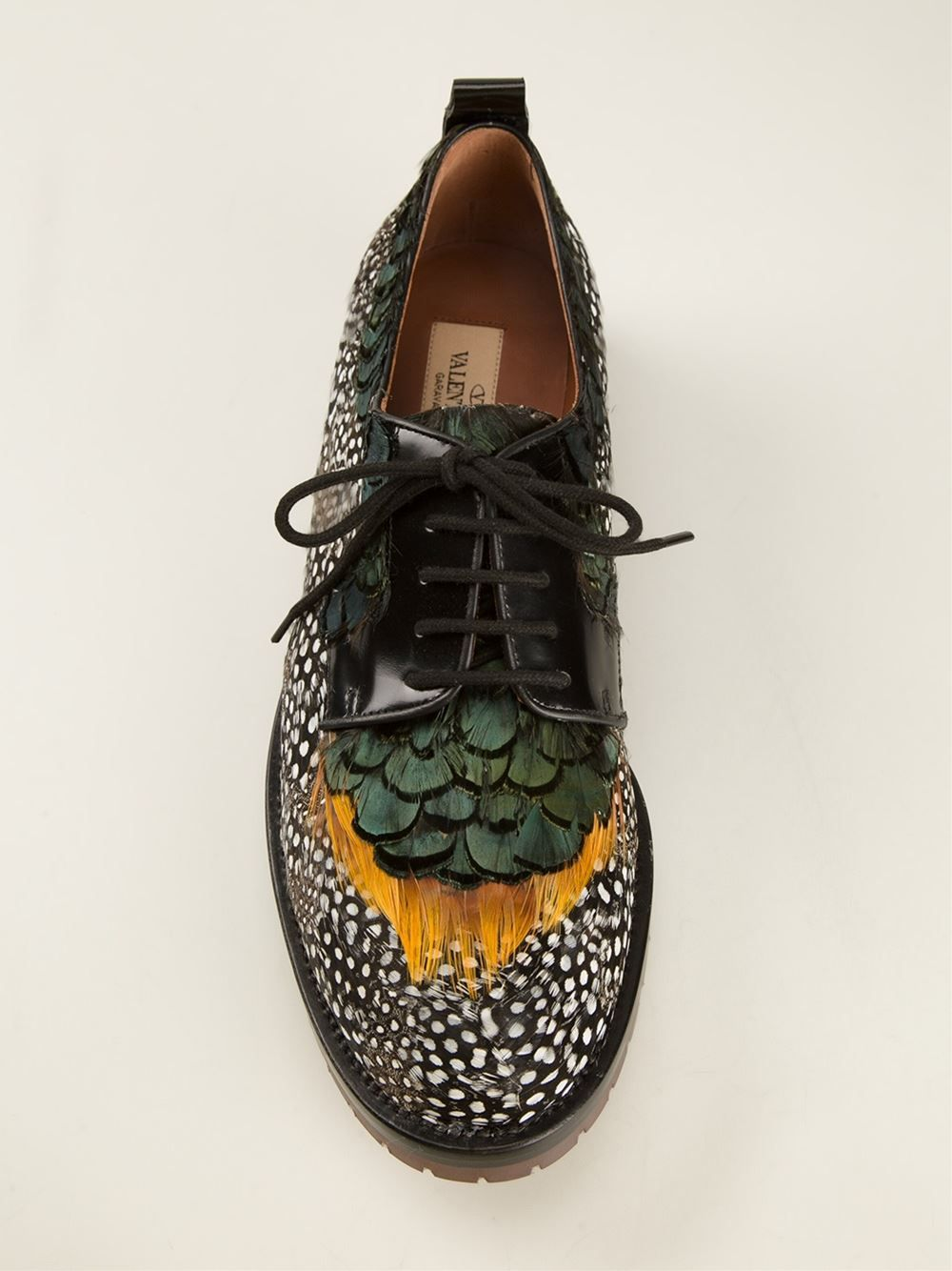 Valentino Garavani Feather Brogues Μοκασίνια 5b030722af3