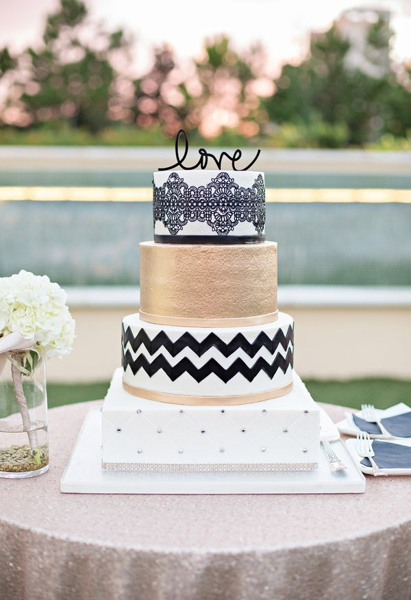 fake wedding cakes orlando fl the smarter way to wed graphic patterns cake and wedding 14139