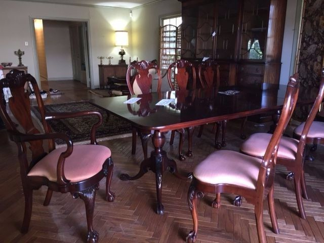 Mt Airy Dining Room Table And Chairs Mtairy