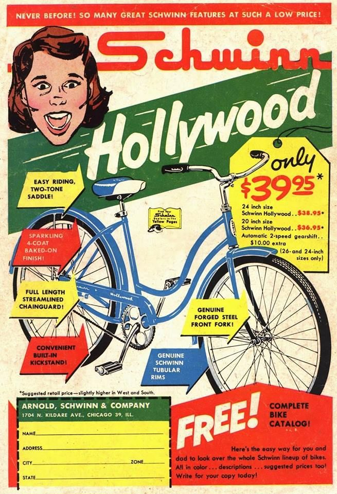 Pin By Julie On Back In My Day Old Ads Vintage Ads Bicycle Advertising